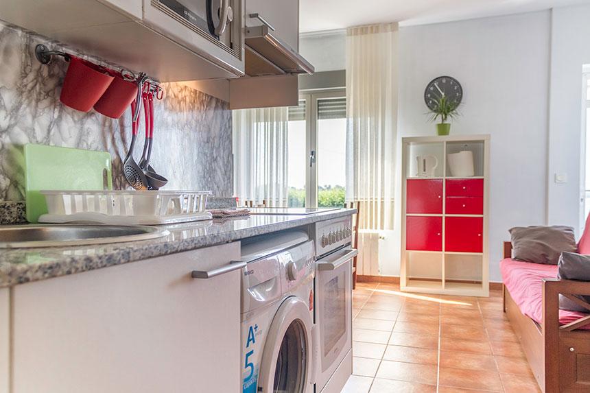 Apartamento Aguilera. Cocina