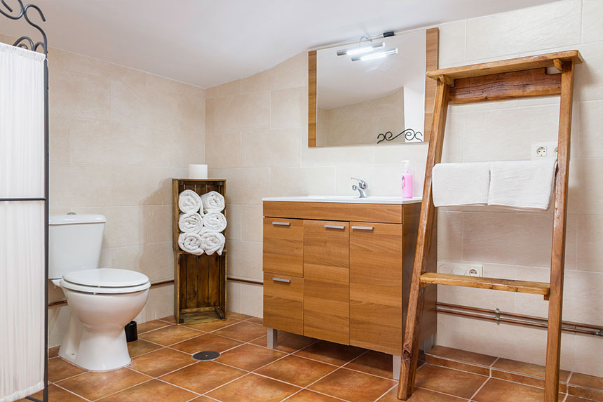 Habitación Avilés. Baño