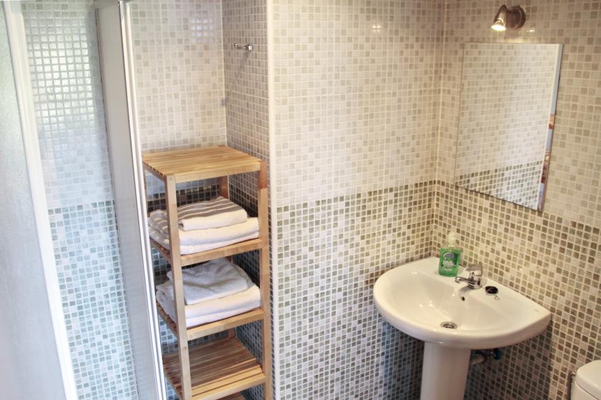 Apartamento Bermea. Baño