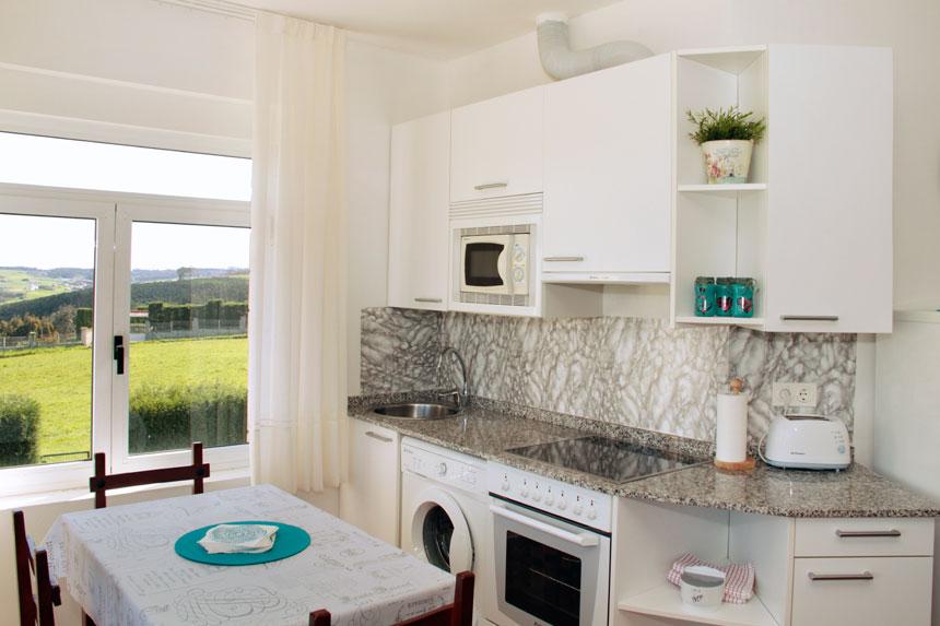 Apartamento Bermea. Cocina