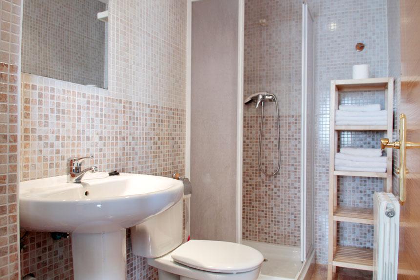 Apartamento Carniciega. Baño