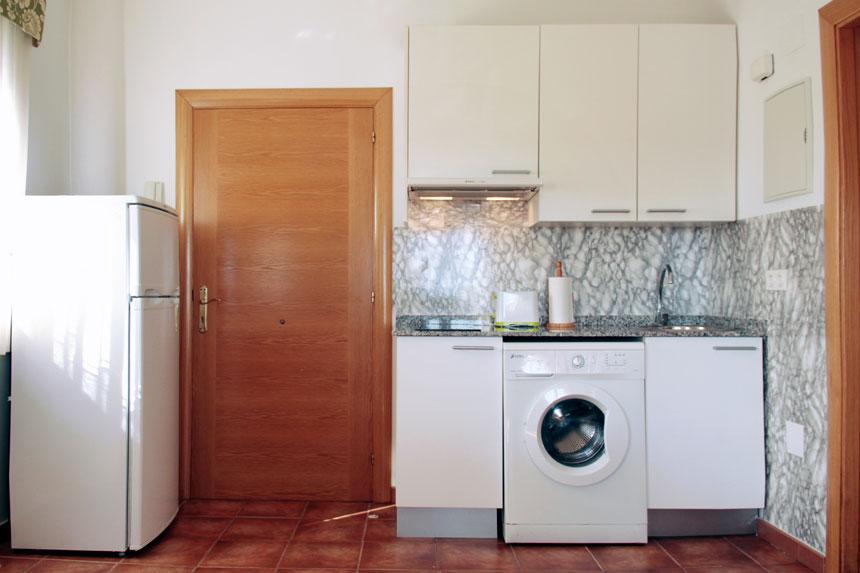 Apartamento Carniciega. Cocina