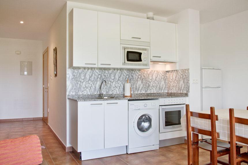 Apartamento Fornón. Cocina