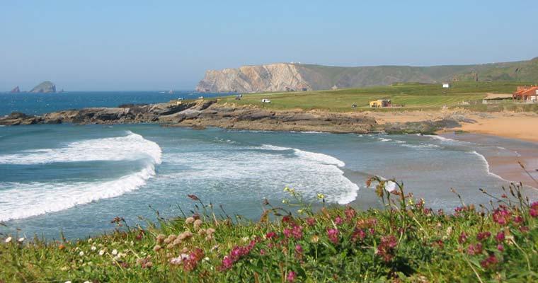 Playa de Verdicio. Playa del Tenrero