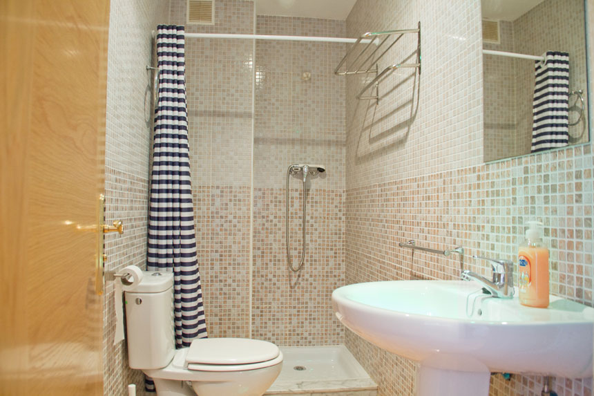 Apartamento Topineres. Baño