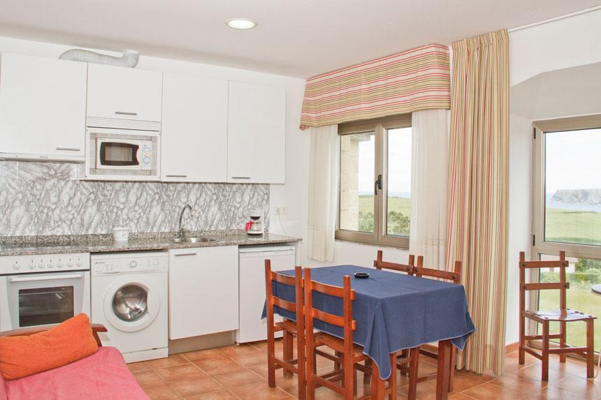 Apartamento Topineres. Cocina-Comedor