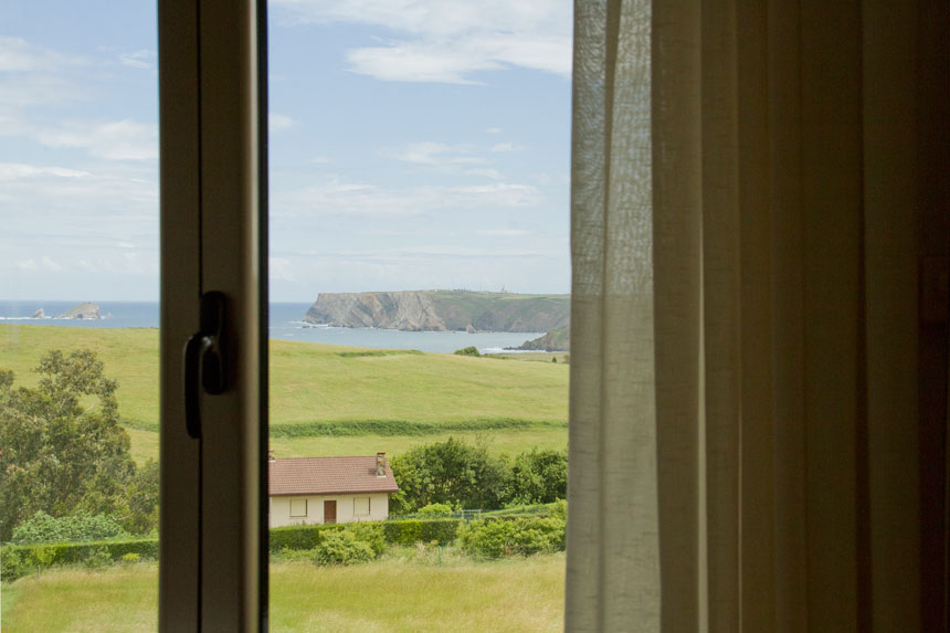 Apartamento Topineres. Vista ventana